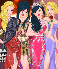 Princess Pop Party Trends Dress up