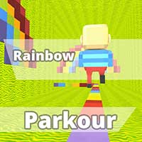 Kogama Rainbow Parkour