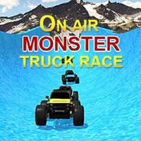 Air Monster Truck Race
