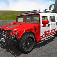 Police Car Driving Stunt Game